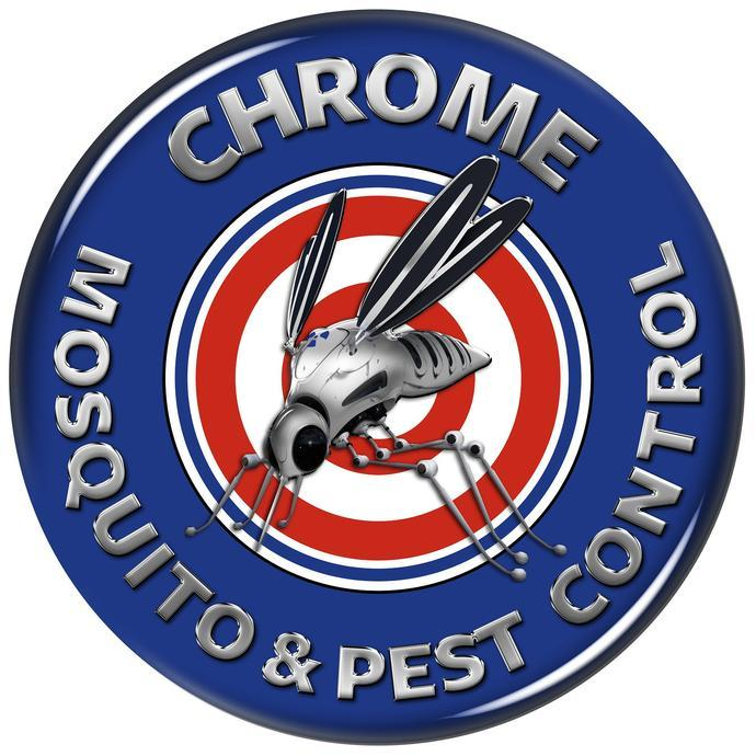 chrome mosquito pest and control logo